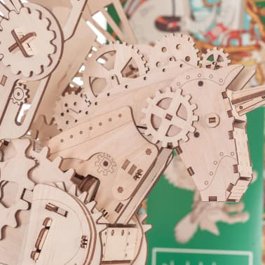 Mr. PlayWood Kit de maquette Licorne Bois 156 pcs[6/8]