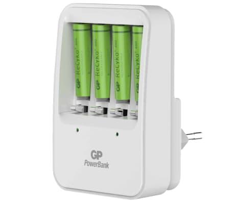 GP Batteriladdare PB420 med 4 batterier 130420GS85AAAHCC4[1/8]