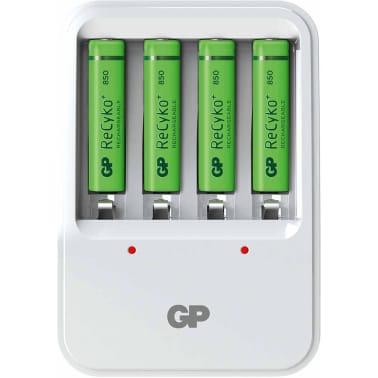 GP Batteriladdare PB420 med 4 batterier 130420GS85AAAHCC4[2/8]