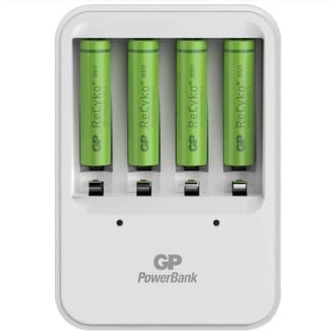 GP Batteriladdare PB420 med 4 batterier 130420GS85AAAHCC4[4/8]