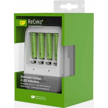 GP Batteriladdare PB420 med 4 batterier 130420GS85AAAHCC4[8/8]