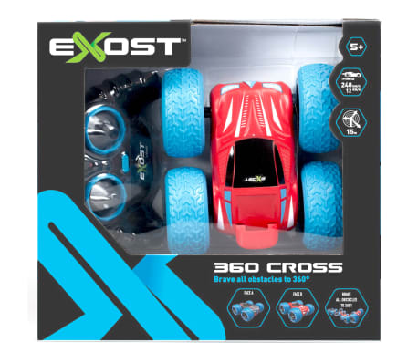 Exost Voiture radioguidée 360 Cross Rouge TE20130[5/5]