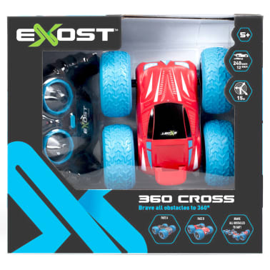 Exost Coche teledirigido 360 Cross color rojo TE20130[4/4]