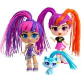 Silverlit Ensemble de jouets de filles jumelles Curli Multicolore