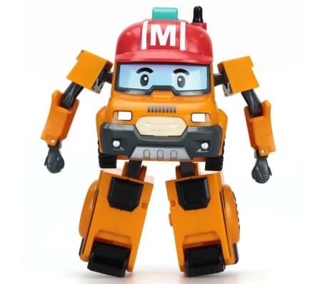 Silverlit Transformerend speelgoed Robocar Poli Mark oranje en rood