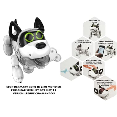Silverlit Robot perro Pupbo blanco SL88520[7/8]