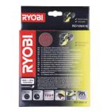 Lot de 10 disques abrasifs 125mm Ryobi RO125A10