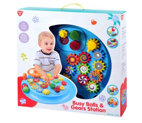 48ed99196 Playgo Busy Balls   Gears Station Baby Toddler Activity Centre Play ...