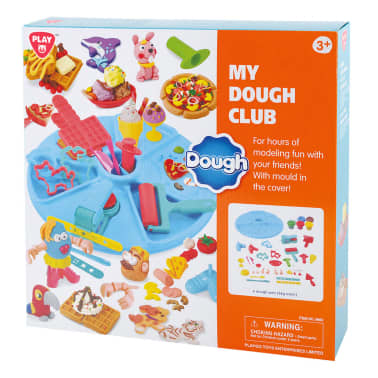 Playgo Pâte de jeu My Dough Club[2/2]