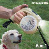 Utdragbart hundkoppel 6 i 1 InnovaGoods