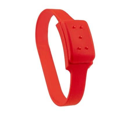 Citronella, Armband gegen Mücken - Rot
