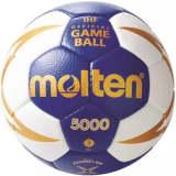 Molten handbal 5000 blauw/wit maat 2