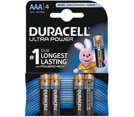 Duracell Ultra Power AAA Batteries, 4pk