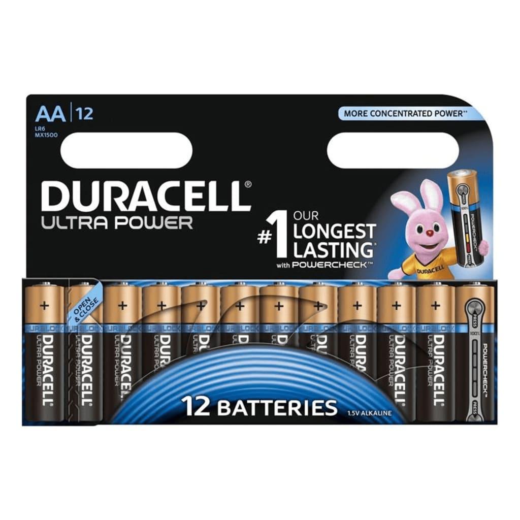 Afbeelding van Duracell Alkaline batterijen AA Ultra Power 12 st