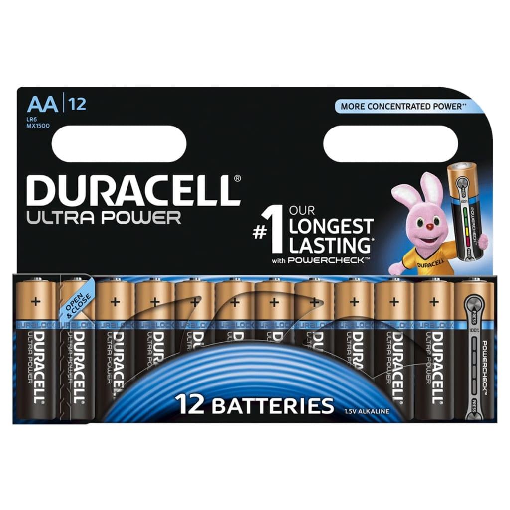 Duracell Alkaline batterijen AA Ultra Power 12 st