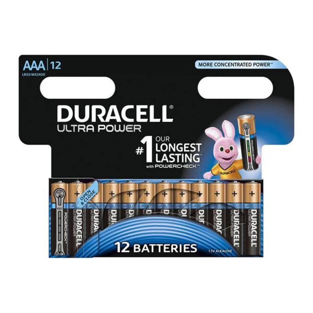 Afbeelding van Duracell Alkaline batterijen AAA Ultra Power 12 st