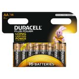 Duracell Piles alcalines AA Plus Power 16 pcs