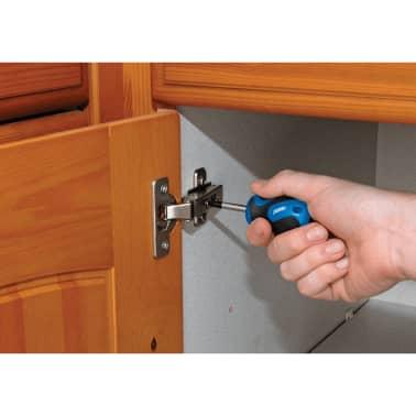 Draper Tools Jeu de tournevis 19 pièces Bleu 09548[6/8]