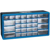 Draper Tools Organizador de herramientas 30 cajones azul 12015