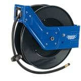 Draper Tools Enrolador de mangueira de ar retrátil 15 m 15050