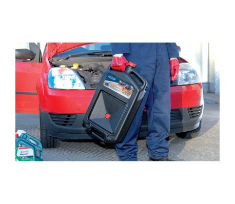 Draper Tools Bac de vidange à huile portable 8 L 22493[2/3]