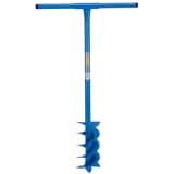 Draper Tools pælespade med bor 1070 x 155 mm blå 24414