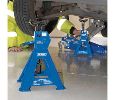 Draper Tools Stützfuß 2 Stk. 4 Tonne 30878[2/2]