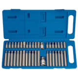 Draper Tools 40 Piece Hexagonal, Torx & Spline Bit Set TX-STAR 33323