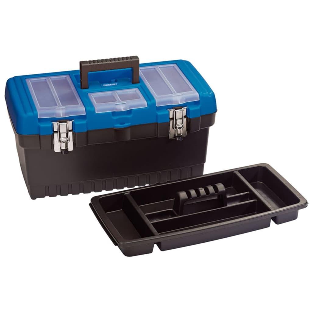 Draper Tools Werkzeugkasten mit Einteilungsebene 48,6×24,2×26,7 cm 53880
