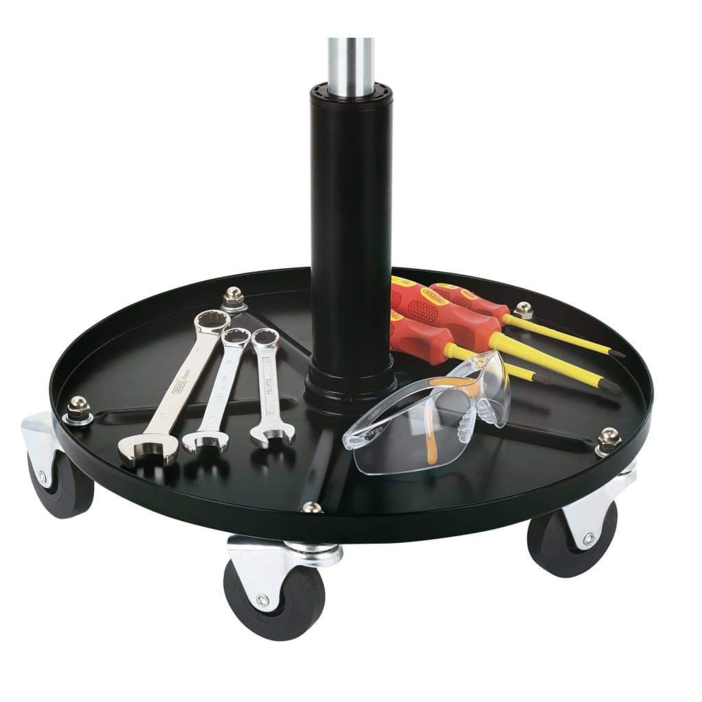 Draper Tools Werkkruk verstelbaar zwart