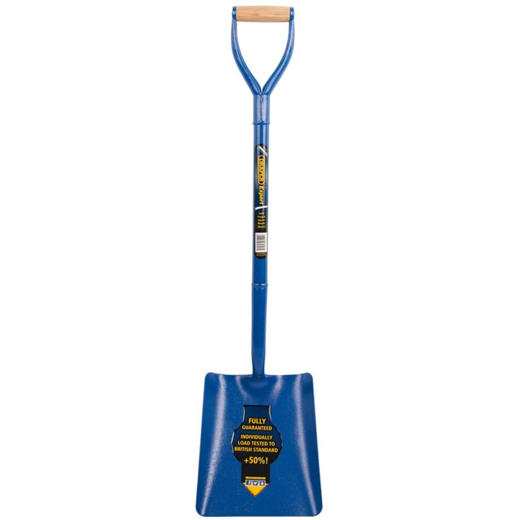 Afbeelding van Draper Tools Expert Schop vierkant blauw 64327