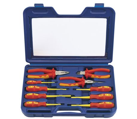 Draper Tools Expert Jeu de pinces et de tournevis dix pièces 71155