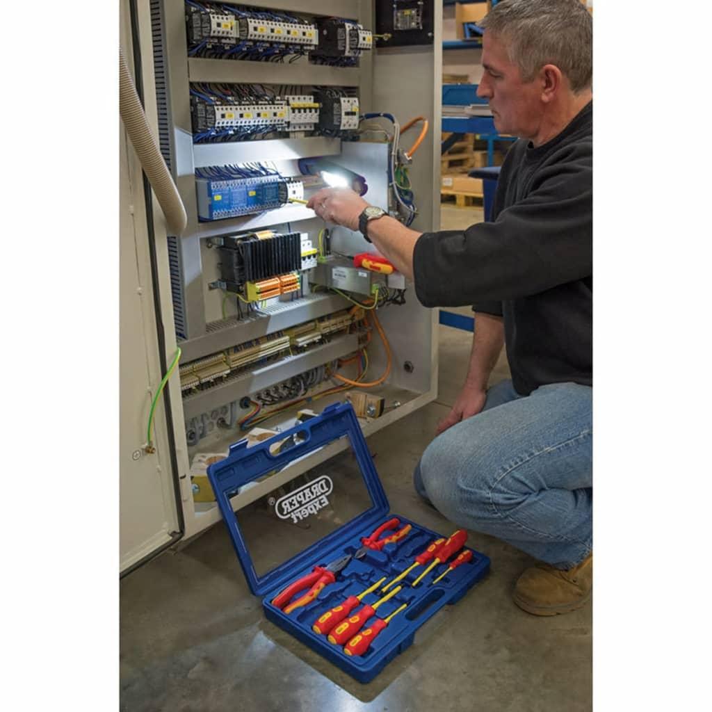 Draper Tools Expert 10-delige tangen- en schroevendraaier set 71155