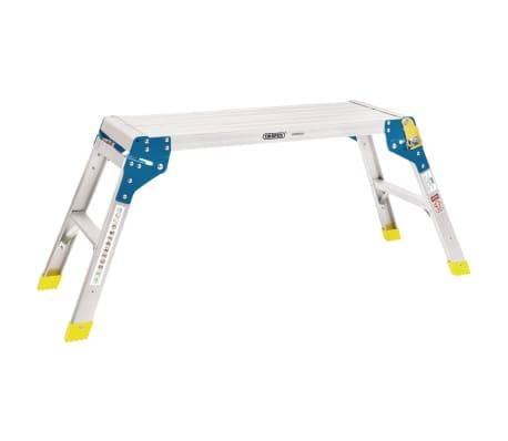 Draper Tools Aluminiowa platforma robocza, 2 stopnie, 80x30x48 cm