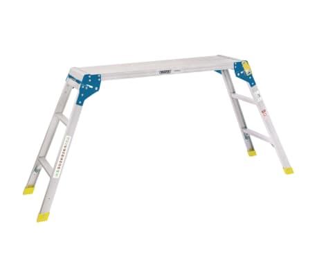 Draper Tools Aluminiowa platforma robocza, 3 stopnie, 100x30x73 cm