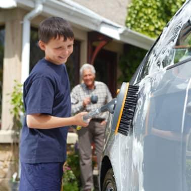 Hozelock Cepillo para lavar el coche Plus Medium[2/3]