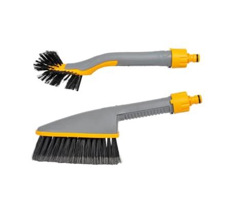Pack double de brosse de lavage Hozelock pour voiture 2624P0000[1/6]