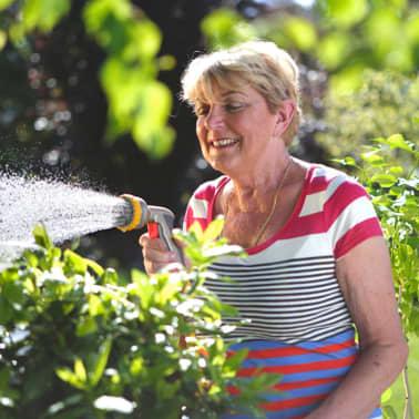 Hozelock Wasserschlauch Gartenschlauch Gartenbewässerung Metall Spritzpistole