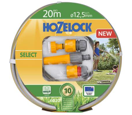 Hozelock Furtun de udare Select 20 m cu set de pornire