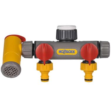 Raccord de robinet à 3 voies Flowmax Hozelock 2250 0000[1/3]