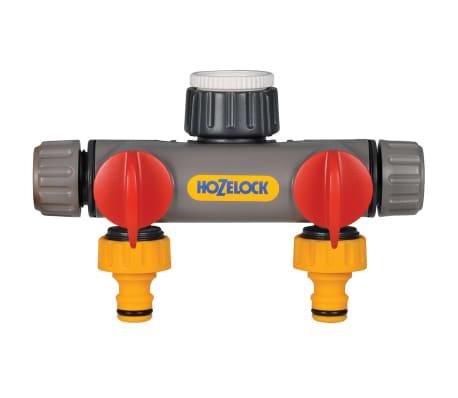 Hozelock Raccord de robinet à 2 voies[1/2]