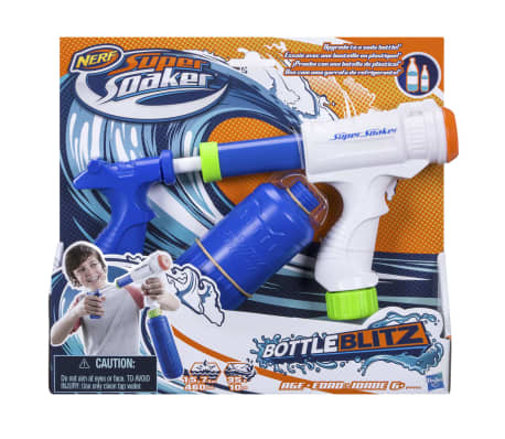 acheter nerf pistolet eau super soaker bottle blitz plastique b4445eu50 pas cher. Black Bedroom Furniture Sets. Home Design Ideas