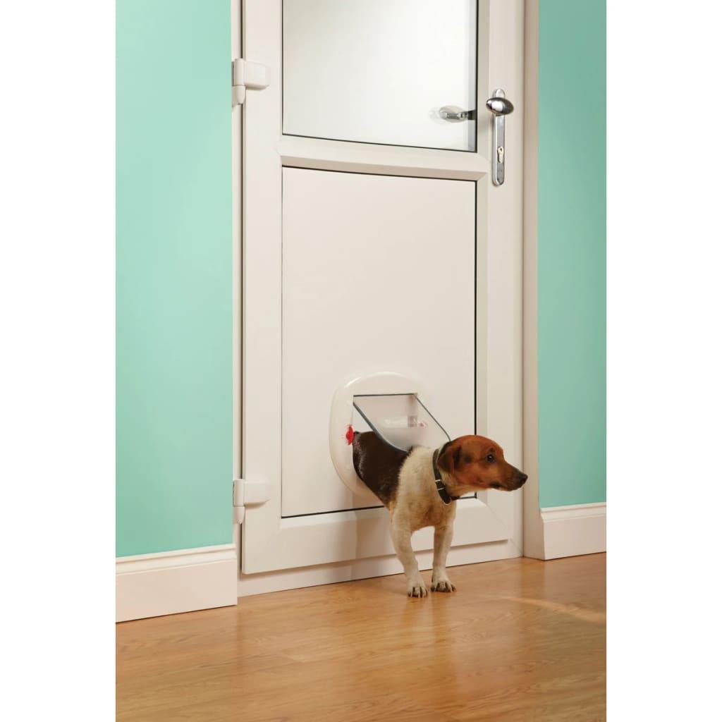 99411379 PetSafe 4-fache Haustierklappe 280 Weiß 5001