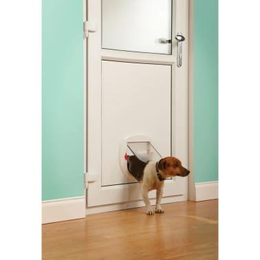 acheter petsafe volet 4 voies pour animaux de compagnie 280 blanc pas cher. Black Bedroom Furniture Sets. Home Design Ideas
