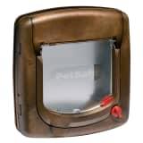 PetSafe Manuell 4-veis kattedør Deluxe 320 brun 5003