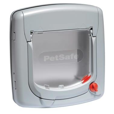 PetSafe Manual 4-Way Cat Flap Deluxe 340 Grey 5004[2/4]