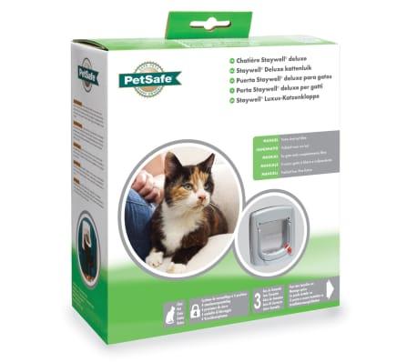PetSafe Manual 4-Way Cat Flap Deluxe 340 Grey 5004[4/4]