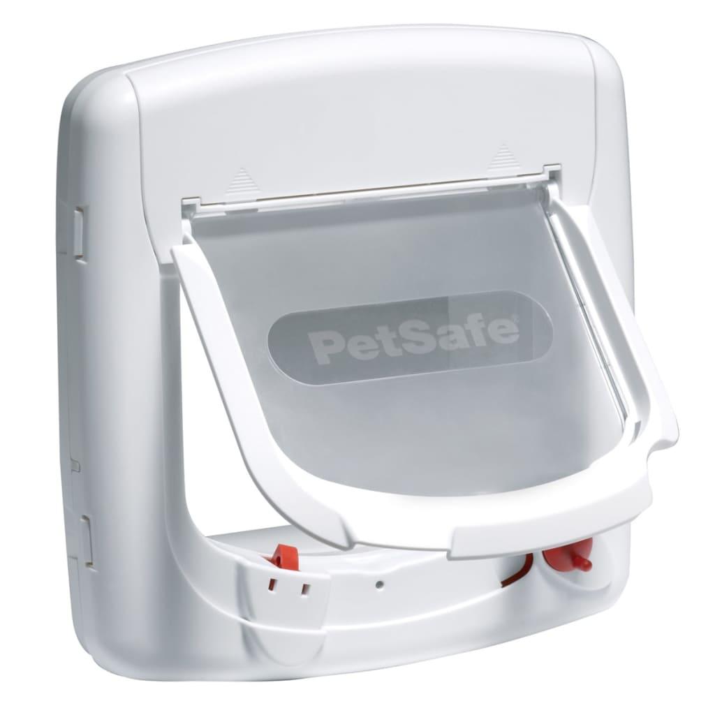 PetSafe Clapetă magnetică cu 4 căi pentru pisici Deluxe 400 alb 5005 poza 2021 PetSafe