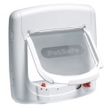 PetSafe Magnetic 4-Way Cat Flap Deluxe 400 White 5005