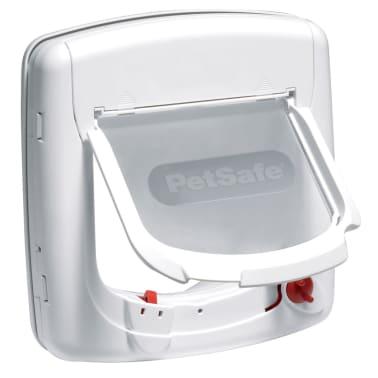 PetSafe Chatière infrarouge à 4 voies Deluxe 500 Blanc[2/4]